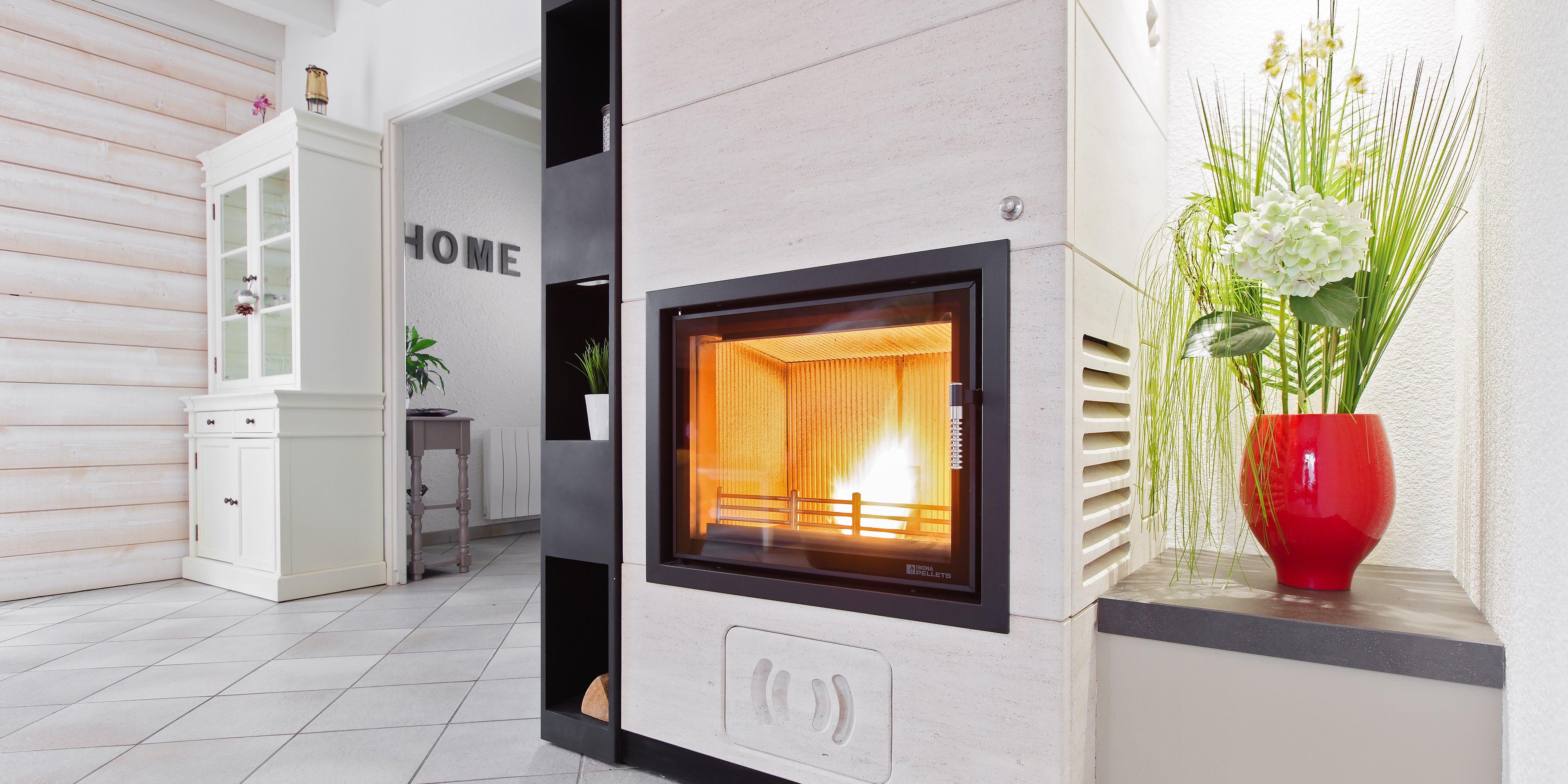 chemin e foyer ouvert bois. Black Bedroom Furniture Sets. Home Design Ideas
